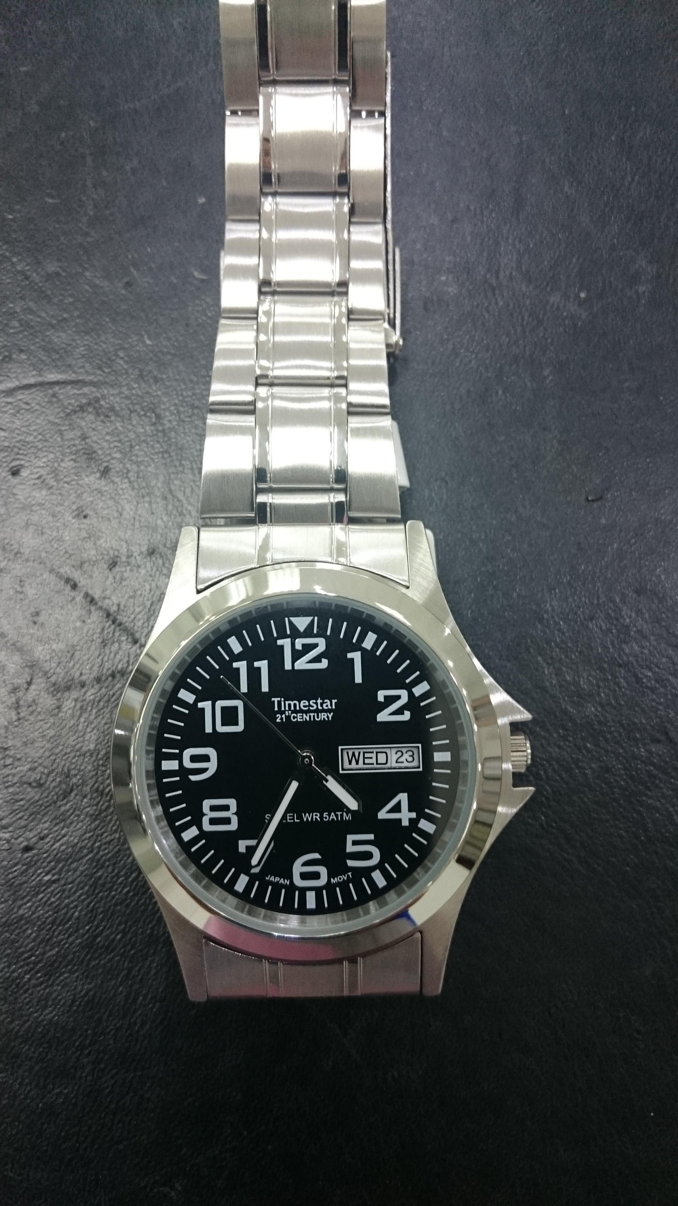 Timestar GS-8096-04 Fekete Férfi karóra – Karóra Shop eeab5b0309